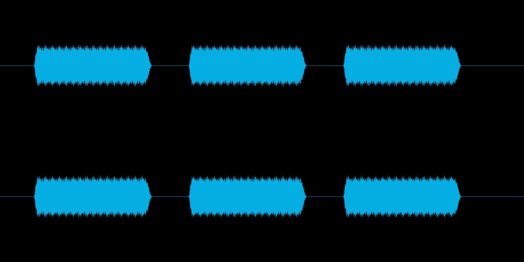 【汎用・セリフ音等】ピピピ(さらに高)の再生済みの波形