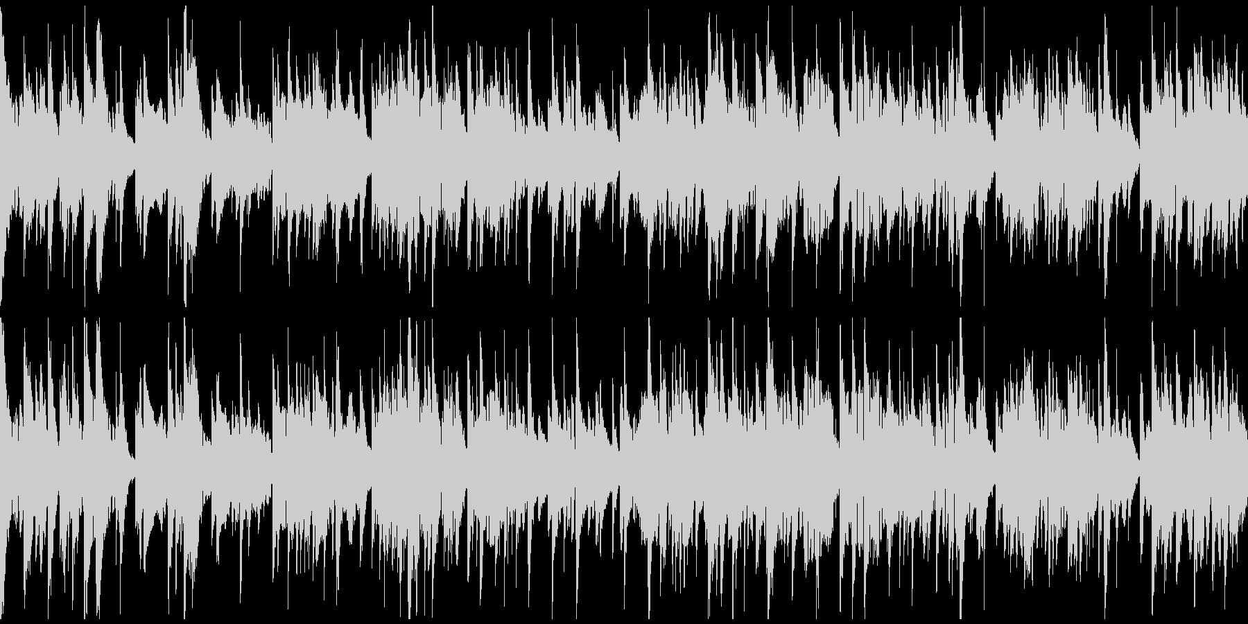 優しいバラード、優雅なサックス※ループ版の未再生の波形