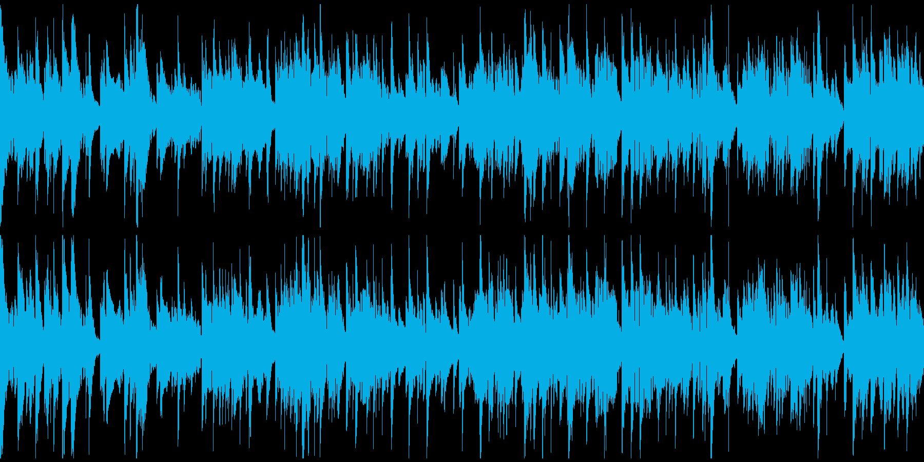 優しいバラード、優雅なサックス※ループ版の再生済みの波形