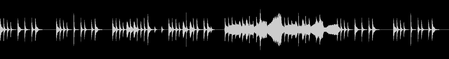 弦楽器メインの日常系BGMの未再生の波形