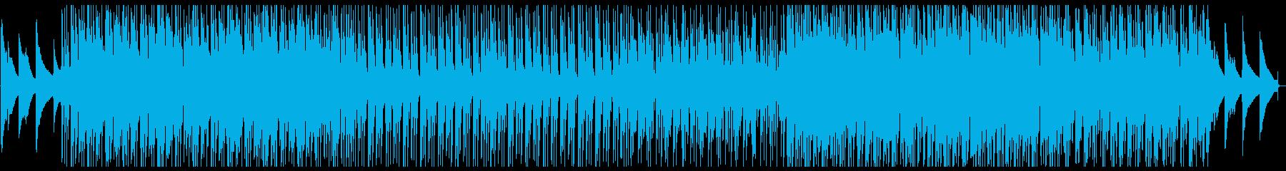 箏がメインの爽やかな和風ポップスの再生済みの波形