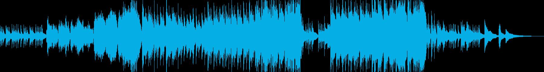 和: 凛としつつも落ち着いた和風曲の再生済みの波形