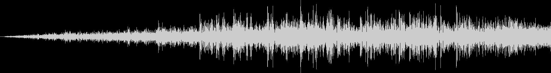 ヒューシュリバースクイックノイズモーターの未再生の波形