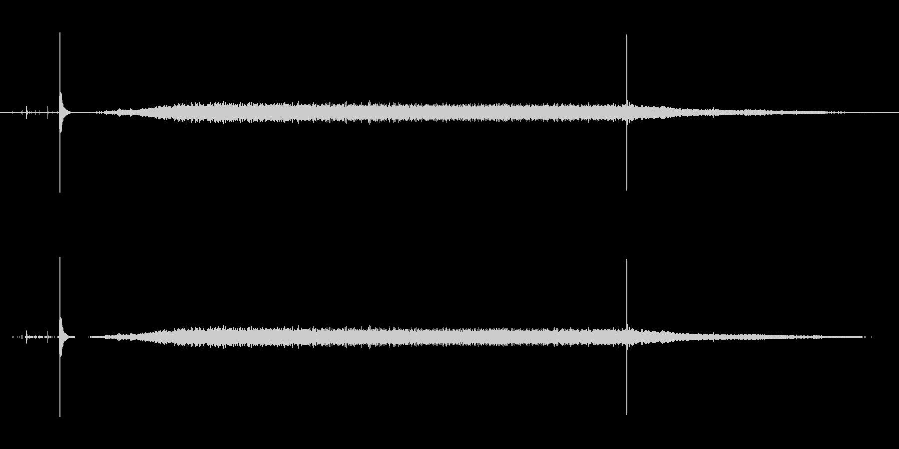 掃除機の動作音2の未再生の波形