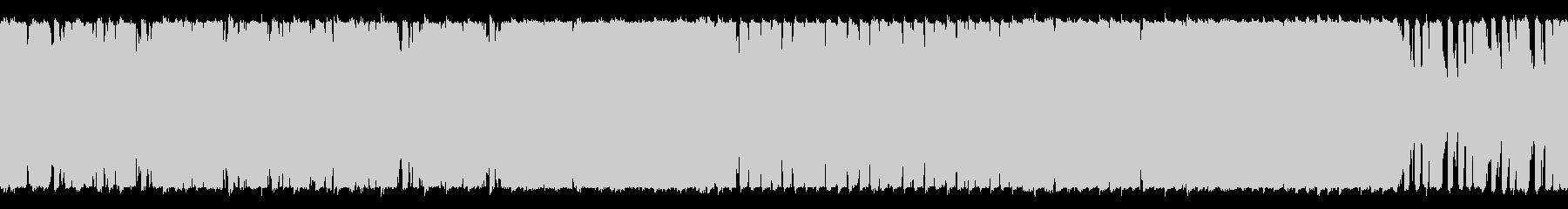 爽やかなショートBGM(ループ仕様)の未再生の波形