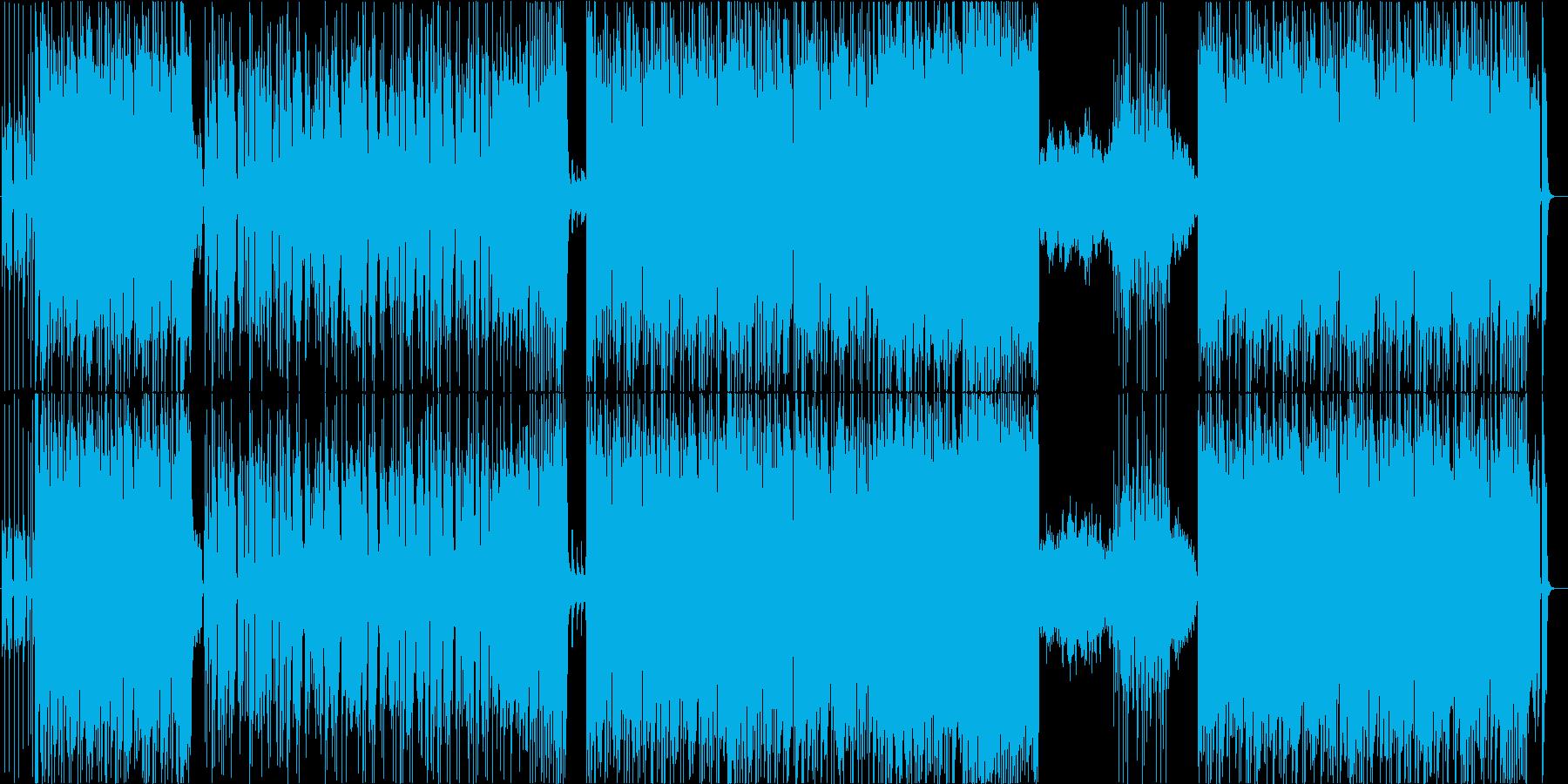 明るくてかっこよいロックPopsの再生済みの波形