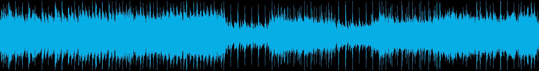 ループ用・疾走感のあるアナログ和風ロックの再生済みの波形