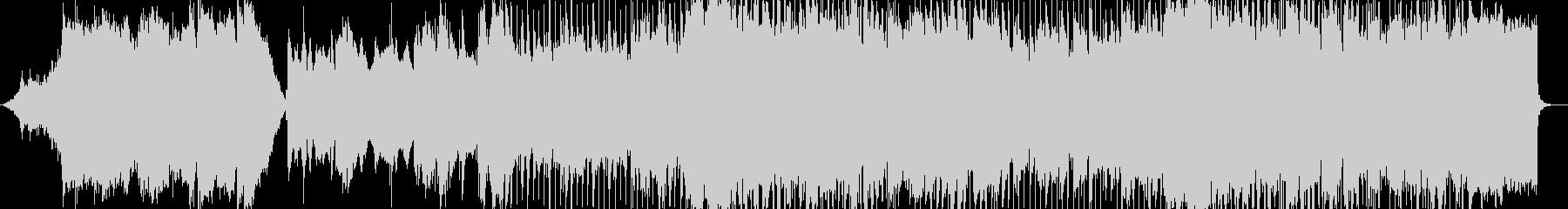 抒情的なメロディを奏でるシンセサイザーの未再生の波形