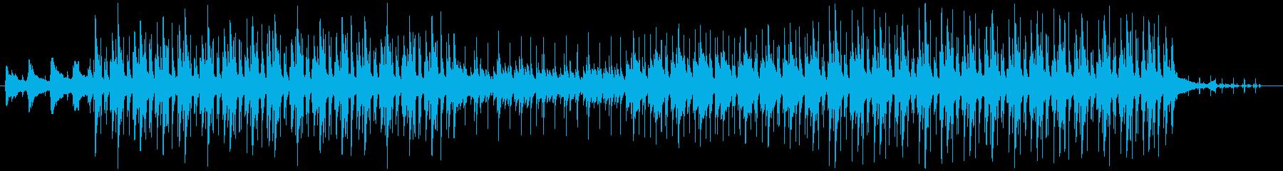 ナチュラルで明るくハッピーなBGMの再生済みの波形
