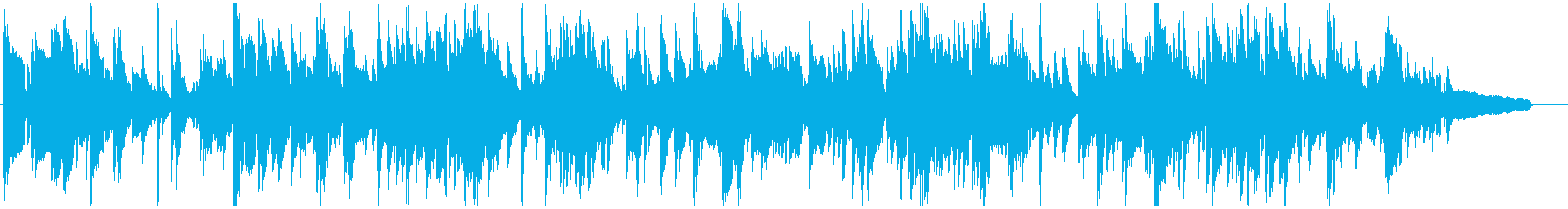 生演奏サックスのセンチメンタルなバラードの再生済みの波形
