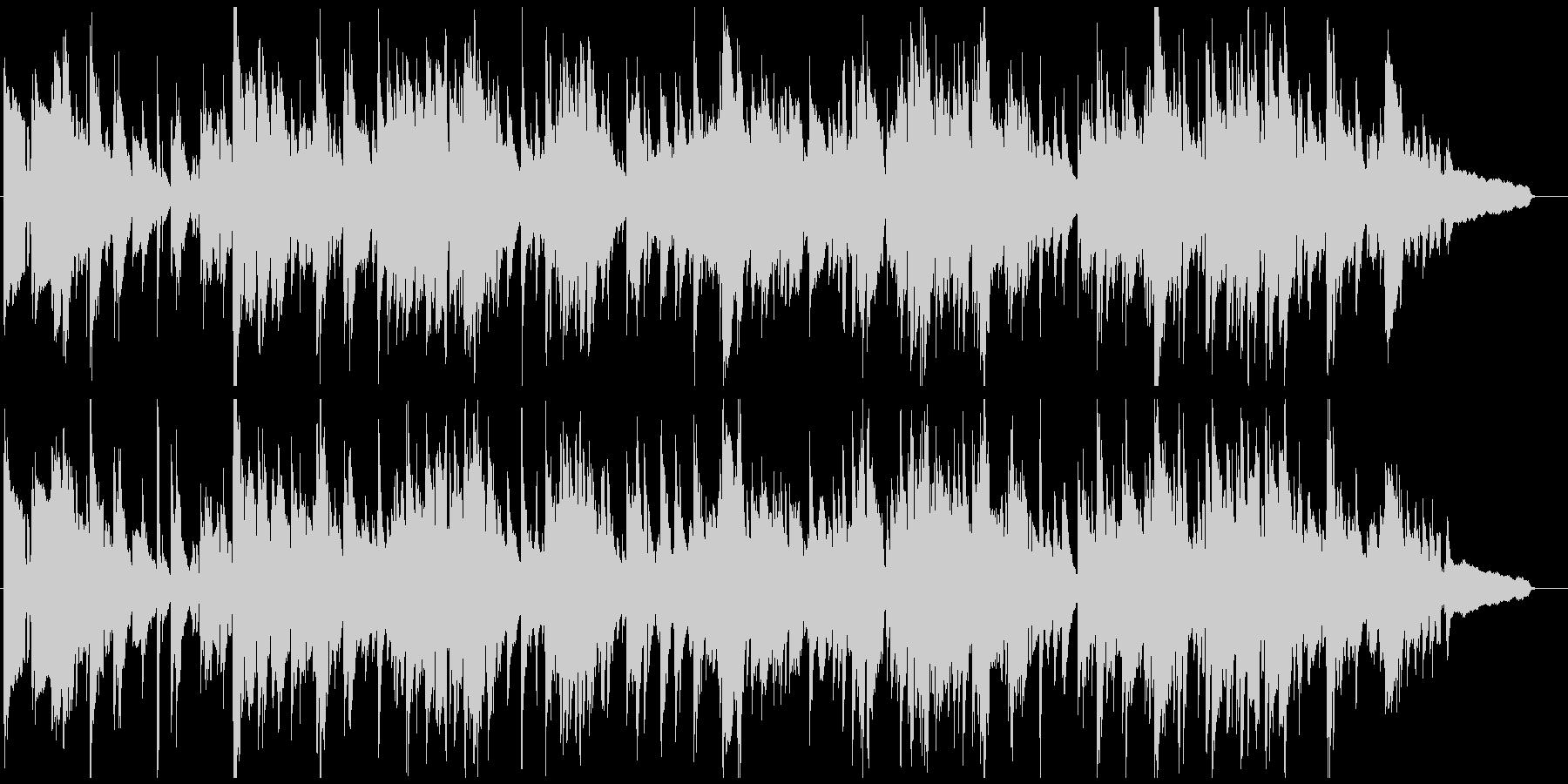 生演奏サックスのセンチメンタルなバラードの未再生の波形