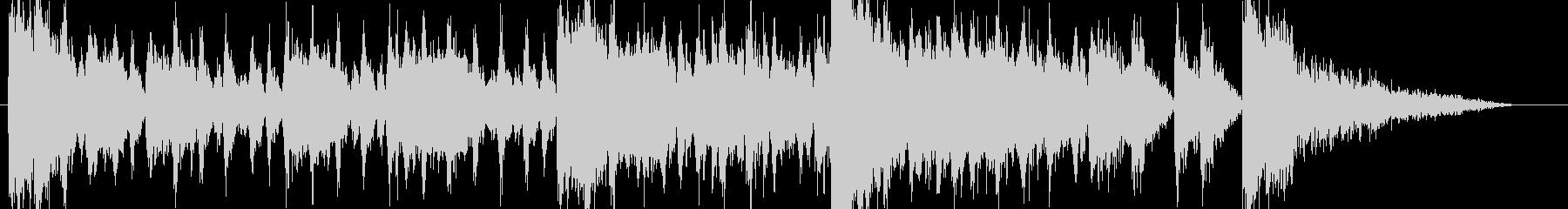 バトルアクション系のオーケストラBGM2の未再生の波形