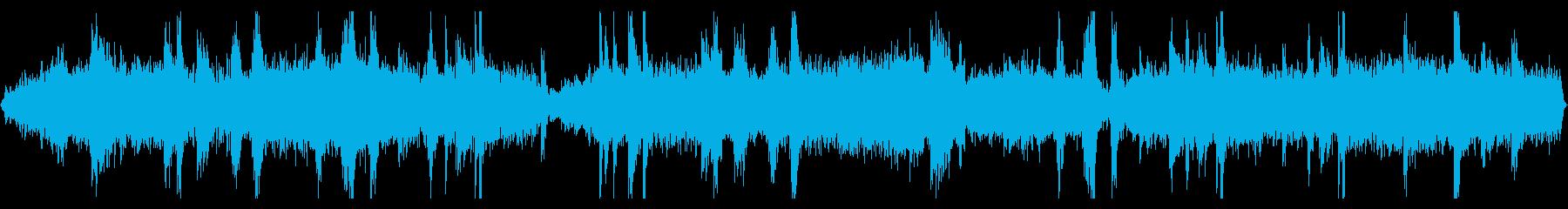 528Hzを用いた自然感じる癒しのBGMの再生済みの波形