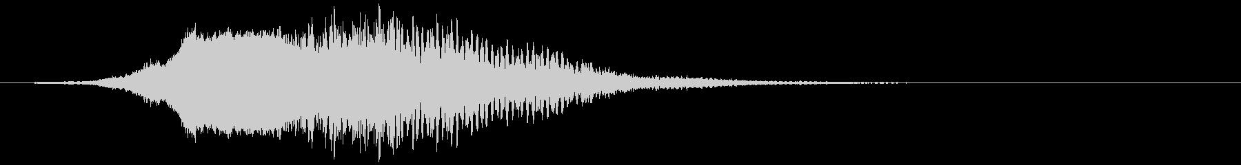 【タイトル】ホラー映画_ロゴ_05の未再生の波形