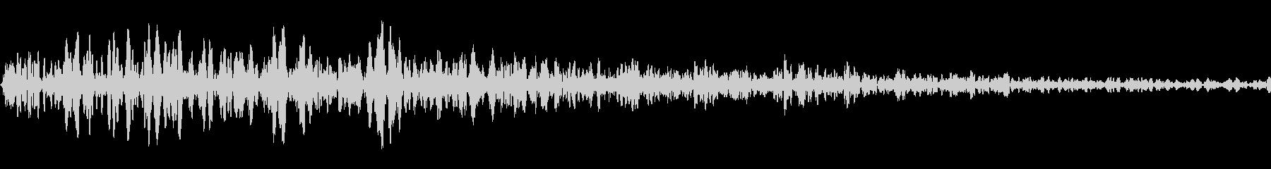 キャットドライブシングルヒットの未再生の波形