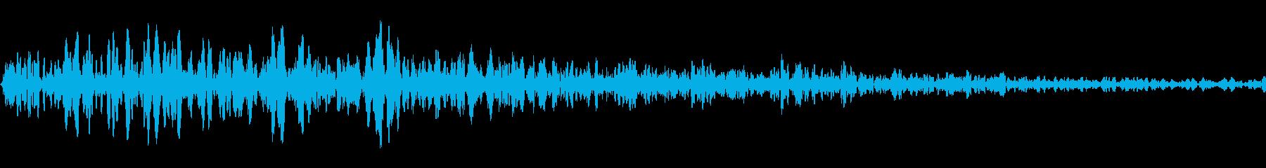キャットドライブシングルヒットの再生済みの波形