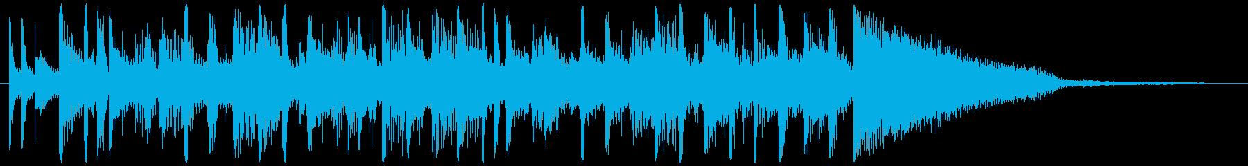 コーナータイトル_Next stageの再生済みの波形