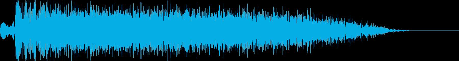 バヒューン!(ブースター)の再生済みの波形