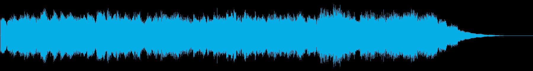 おやすみVtuberさん用30秒BGMの再生済みの波形