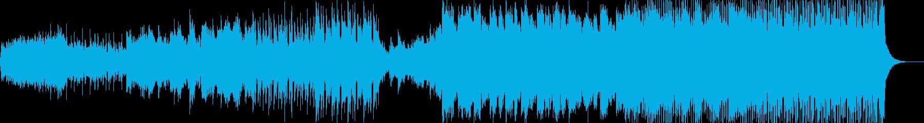 シネマティックなインストの再生済みの波形