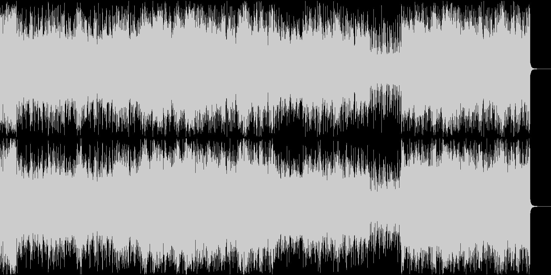 ニルヴァーナっぽい曲です。の未再生の波形