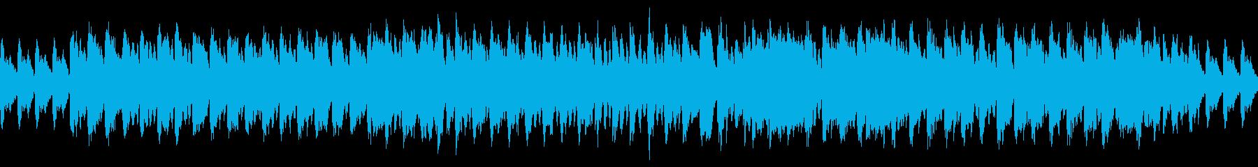 木管楽器のコミカルで怪しげな曲の再生済みの波形