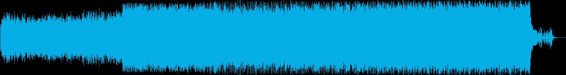 宇宙系近未来エレクトロニカの再生済みの波形