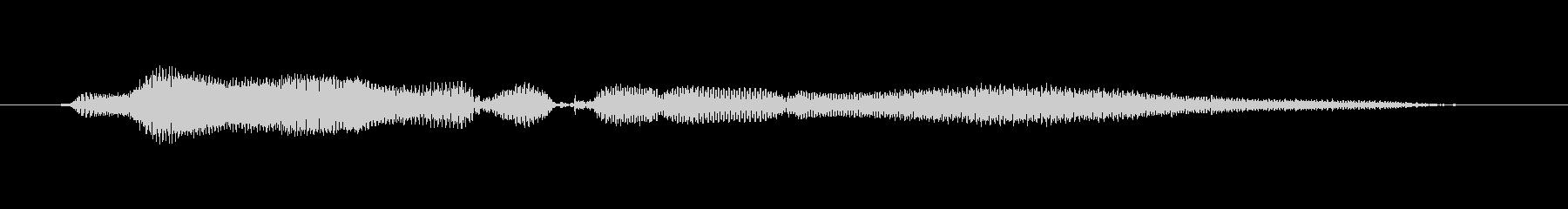 鳴き声 女性トークエルフィッシュ02の未再生の波形