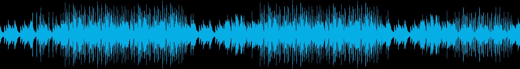ハロウィン・怪しげ・不安・ピアノ・ループの再生済みの波形