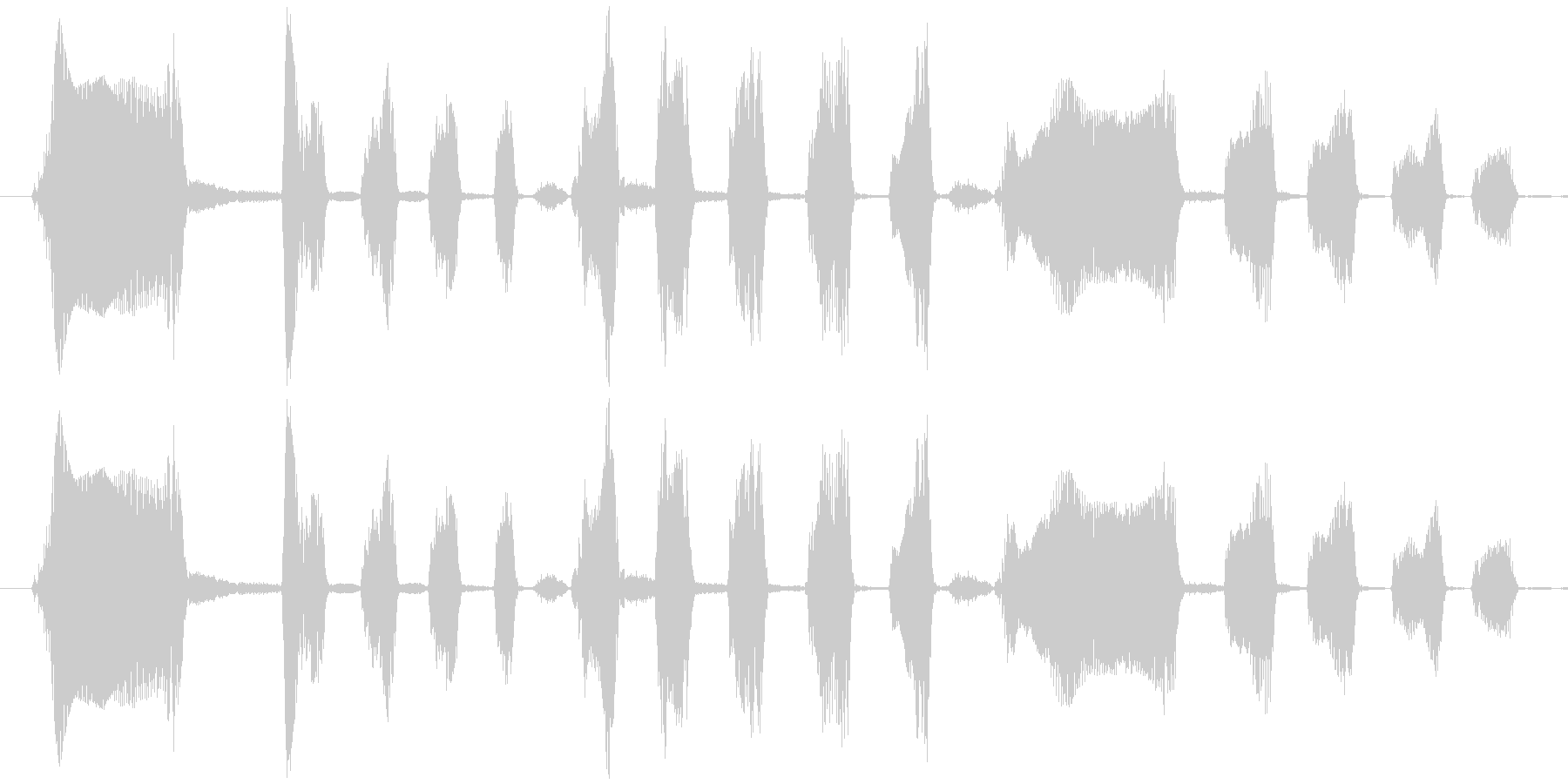Long Laugh Voice_Malの未再生の波形