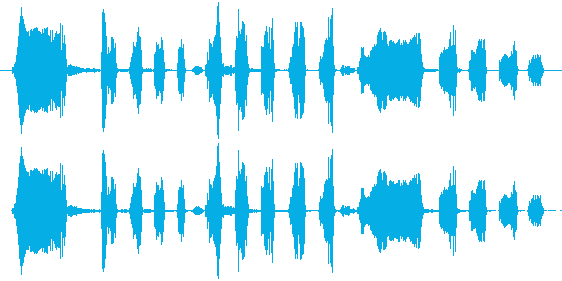 Long Laugh Voice_Malの再生済みの波形