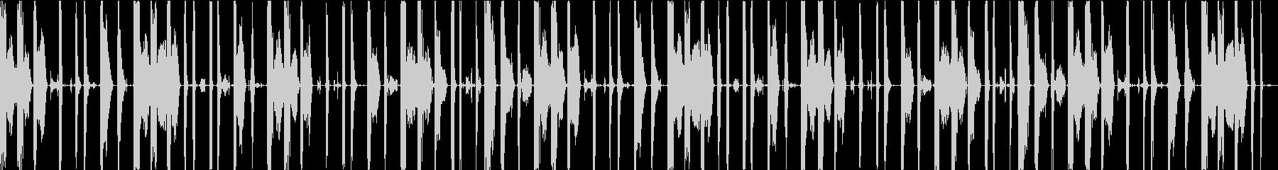 ボイスパーカッション・ビートボックス_5の未再生の波形