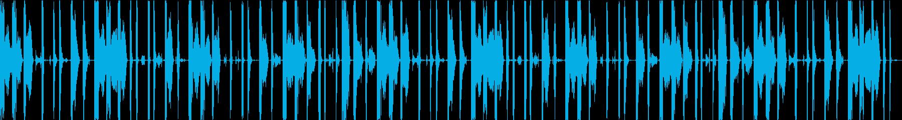 ボイスパーカッション・ビートボックス_5の再生済みの波形