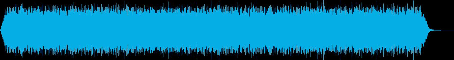 【アンビエント】ドローン_31 実験音の再生済みの波形