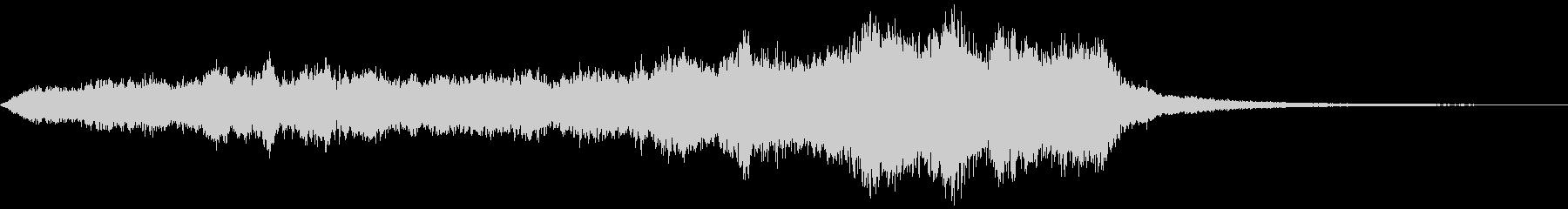 ダークで、退廃的なサウンド_02の未再生の波形