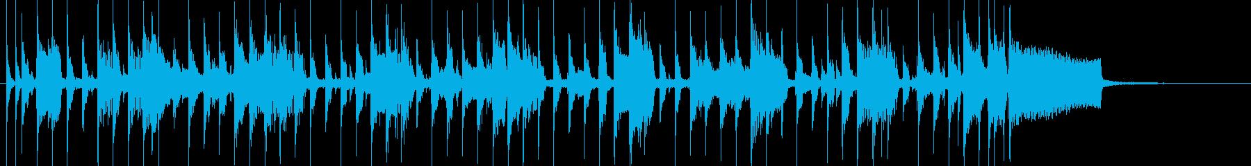 コーナータイトル_南国風メロなしの再生済みの波形