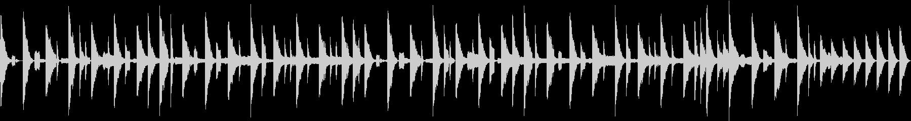 野球337拍子的イメージの未再生の波形