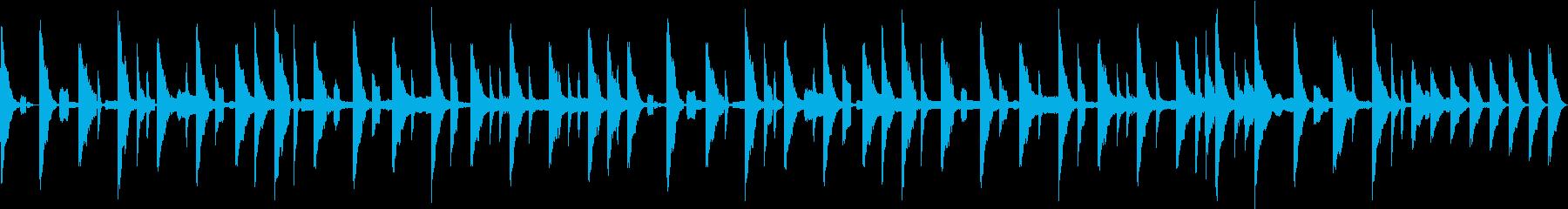 野球337拍子的イメージの再生済みの波形