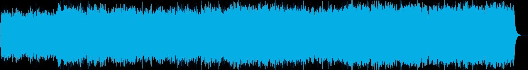 Angel Fallsの再生済みの波形
