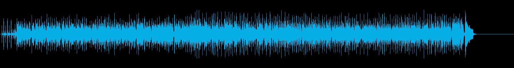 非常に活発なリズムとブルースホンキ...の再生済みの波形