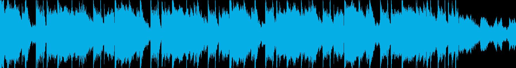 BGM_ダーク系_打ち込み系_ループの再生済みの波形