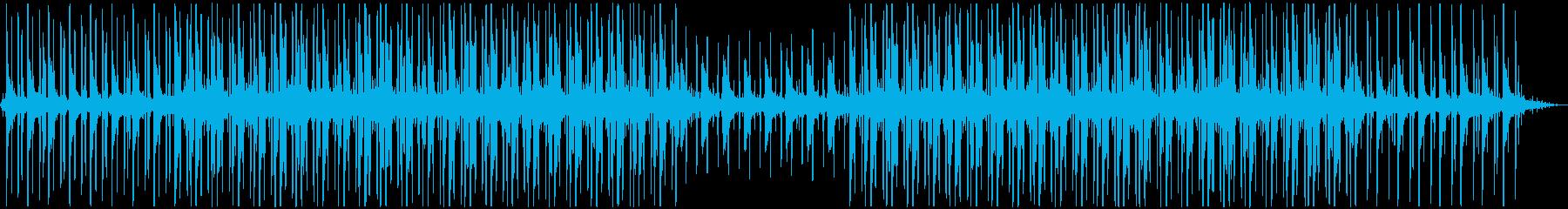 お洒落で癒されるローファイなピアノの再生済みの波形
