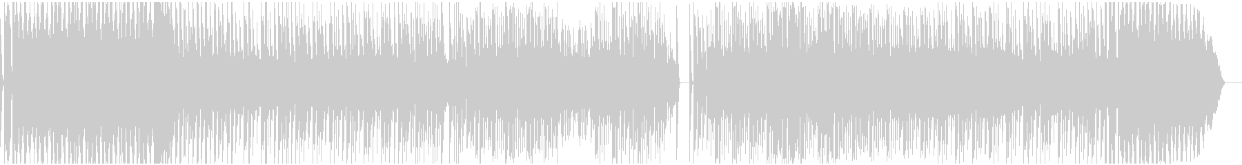 ロボテックなテクノサウンドEDMの未再生の波形