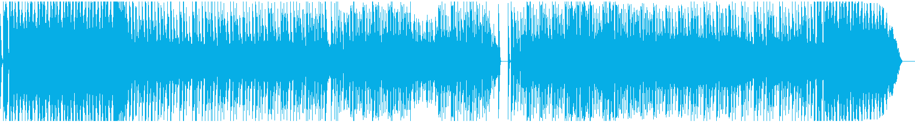 ロボテックなテクノサウンドEDMの再生済みの波形