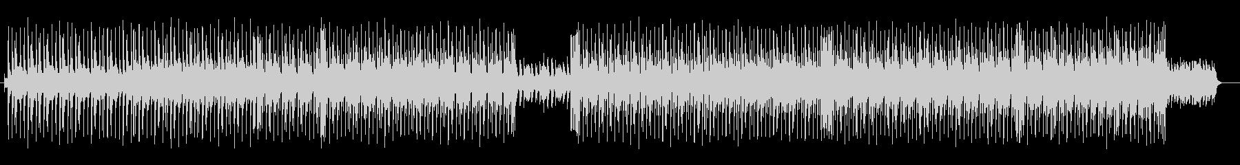ミドルテンポのロックなダンスチューンの未再生の波形