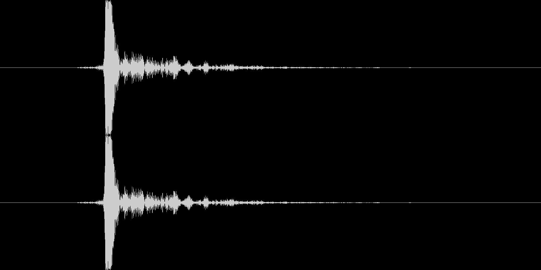 キュパ(キャップ)の未再生の波形