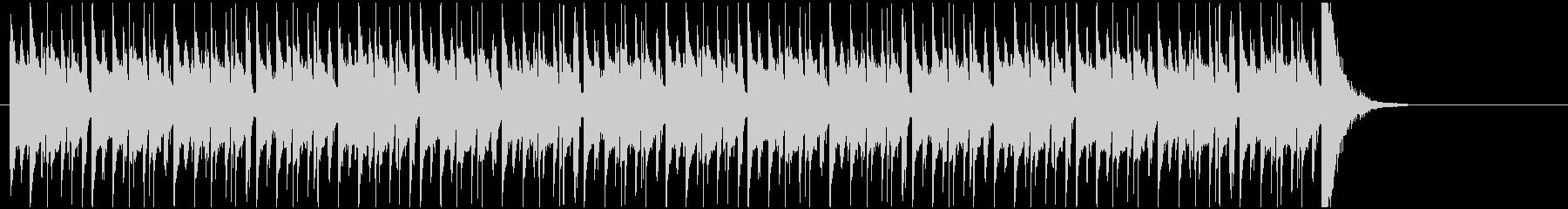 クイズ番組などのシンキングタイム用BGMの未再生の波形