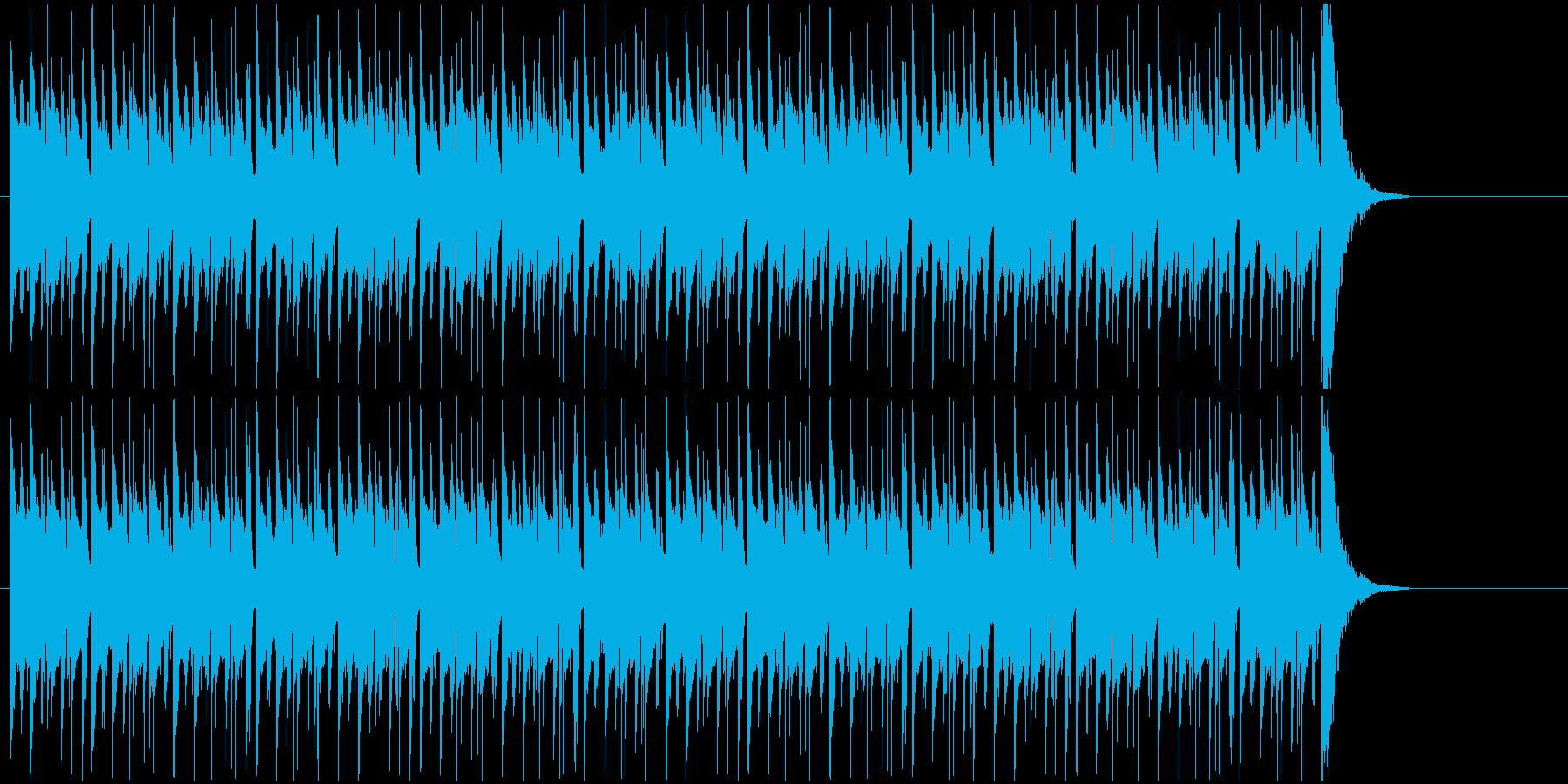 クイズ番組などのシンキングタイム用BGMの再生済みの波形