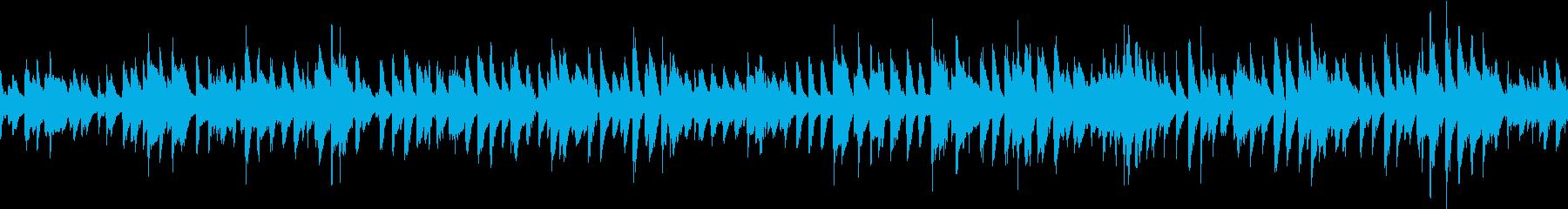 爽やかで軽やかなピアノトリオジャズの再生済みの波形