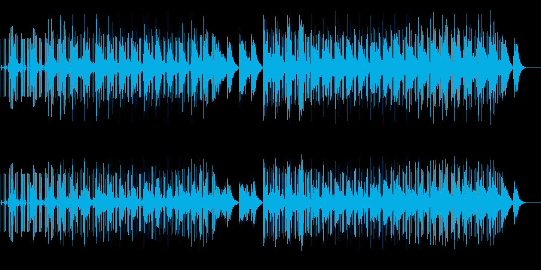 作業用BGM 心安らぐチルホップの再生済みの波形